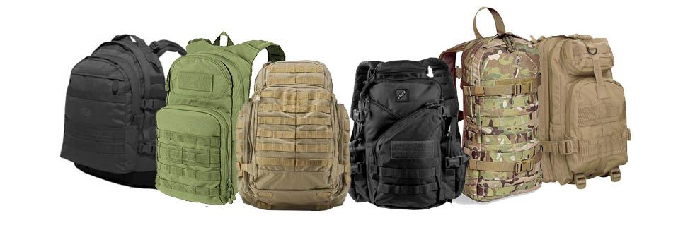 Small tactical backpack