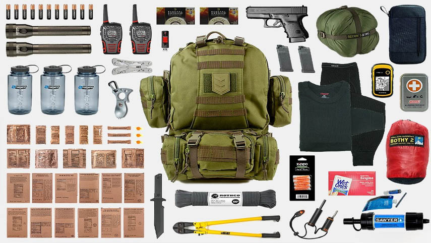 Survival Gear - Teach Your Family How to Use Military Kit and Methods at Home