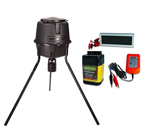 with tripod bell digital jager gallon pro fill ez dinner product timer feeder moultrie
