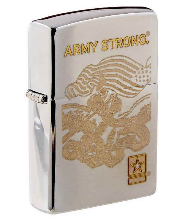army-strong-windproof-zippo-lighter