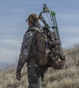 Bow hunter backpack