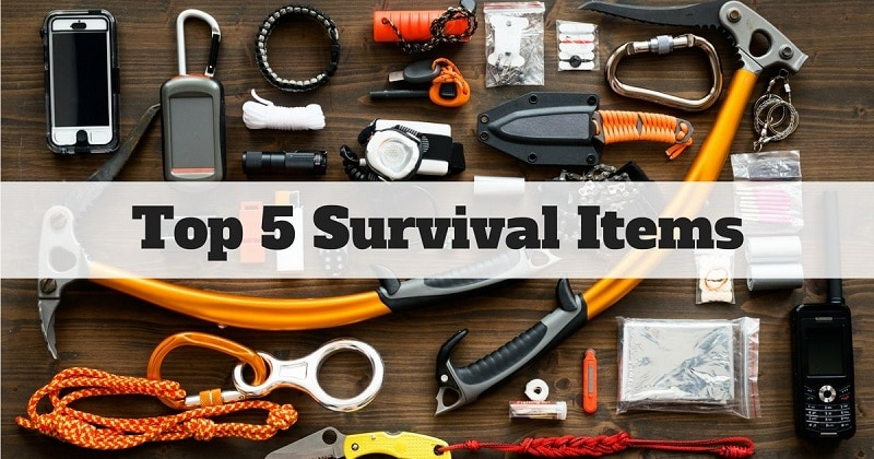 Survival Items to Always Have in Your Pack