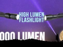 Best 1000 Lumen/High Lumen Flashlight